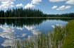Row lake boulder ...