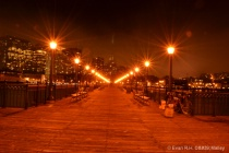 Night at the Piers of San Francisco