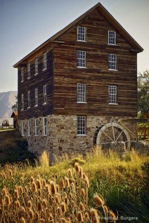 Ezra Taft Benson Grist Mill