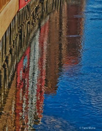 Reflection of Trondheim