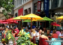 Outdoor Dining In The City