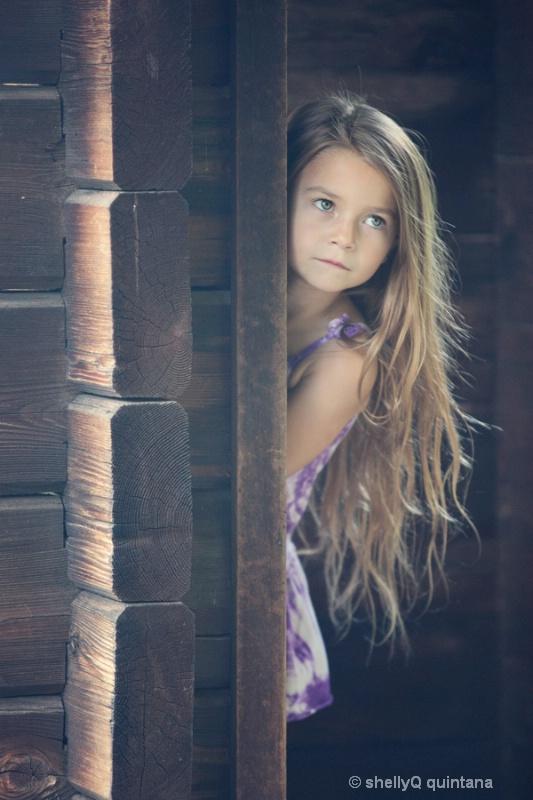 Peeking  - Accalia Quintana