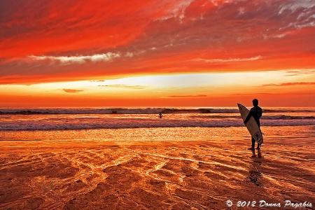 Sensational Sunset Surf