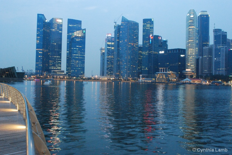 View of Raffles Place