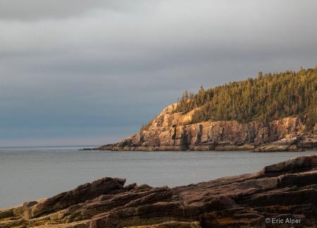 Light dawns on Otter Cliffs