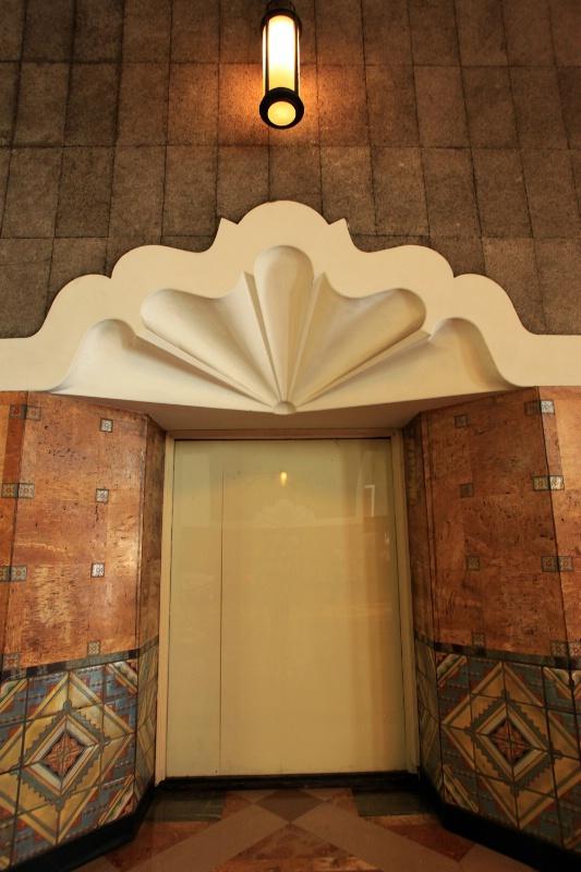 Elevator, Union Station, L.A.