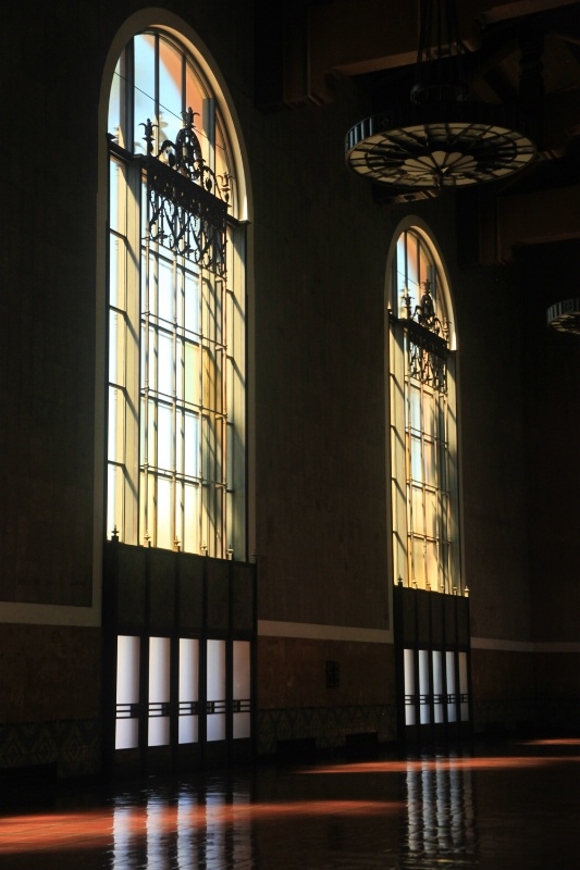 Windows at Union Station, L.A.