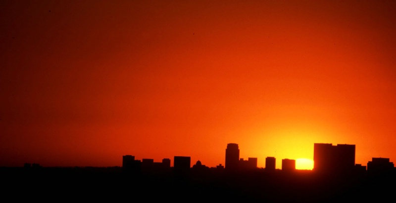 Silhouette of West L.A.