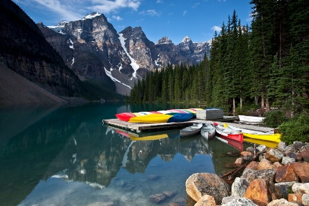 Ready for a Lazy Day on Lake Moraine