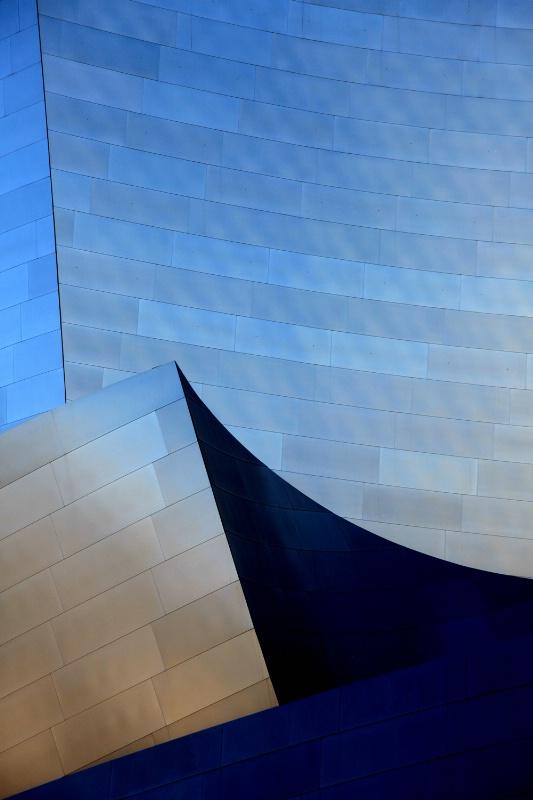 Disney Concert Hall detail, Levels adjustment