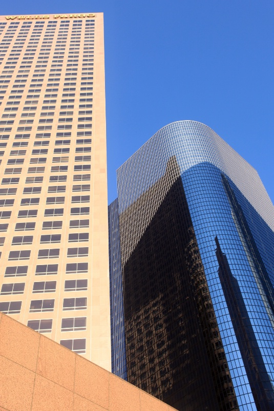 High-rise buildings, L.A.