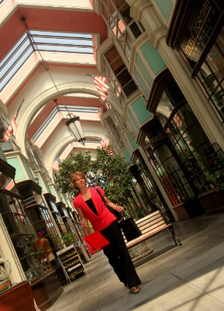 Woman Shopping, Burlington Arcade