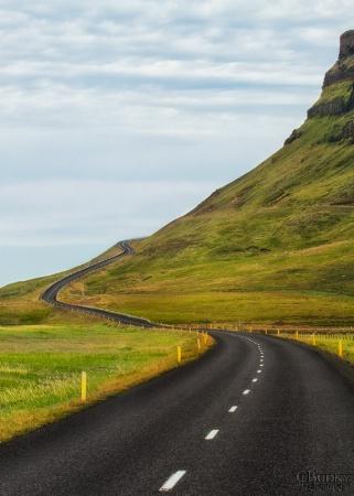 Road to Stykkishólmur