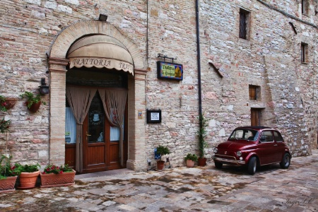 <b>Parked for Trattoria - Italy</b>