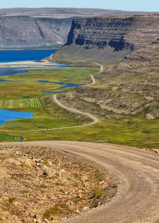 Road from Breiðavík
