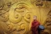 Myanmar monk