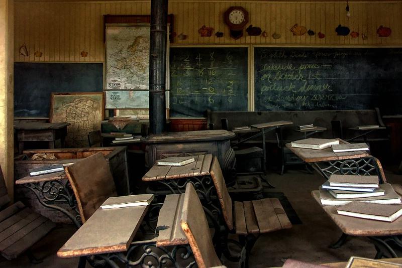 Bodie School Room