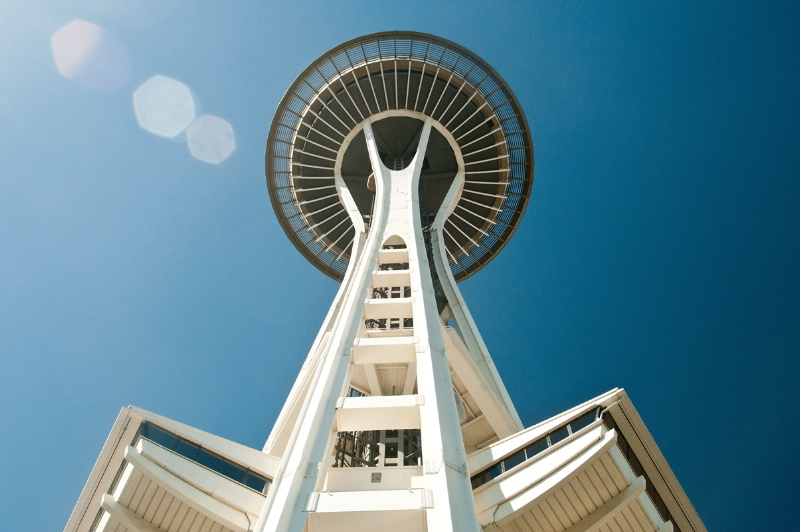 Under Space Needle - ID: 13310754 © Don Johnson