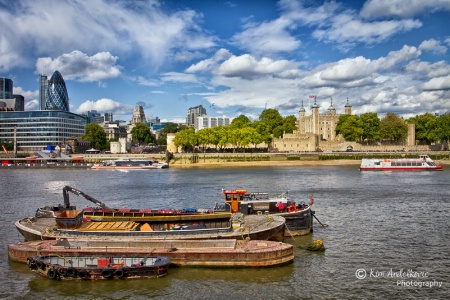 The Thames River - London