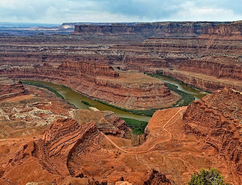 Colorado River Gooseneck At Deadhorse Point