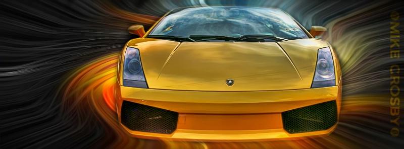 ~ Zooming Lamborghini ~