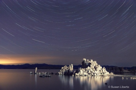 South Tufa Star Trails