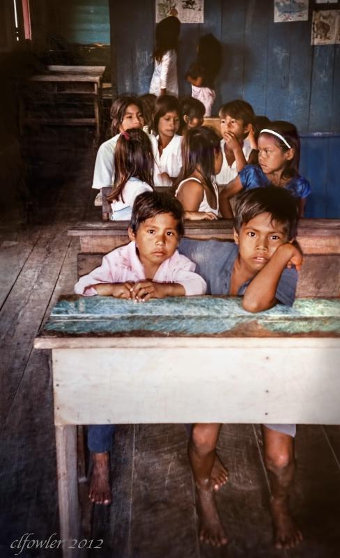 Schoolroom on the Amazon