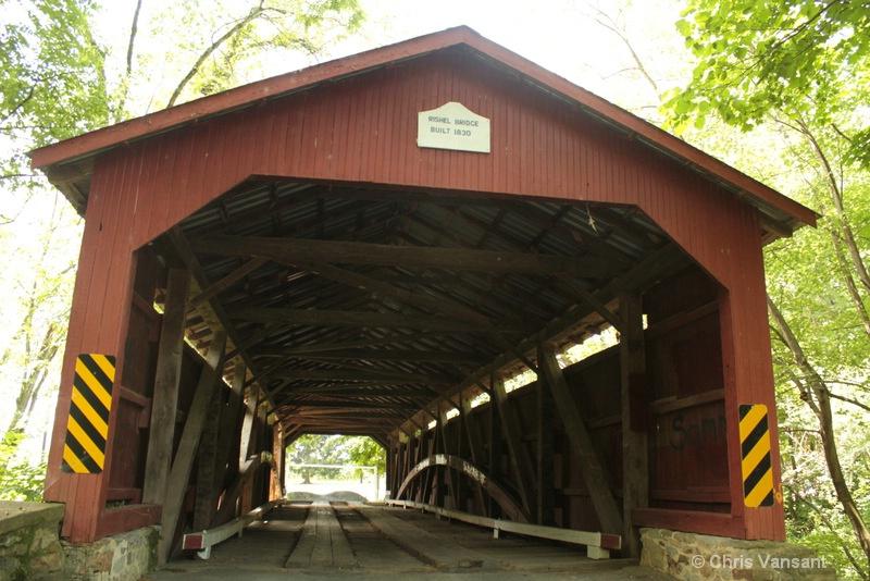 20120722 3032 Rishel Covered Bridge, PA - ID: 13352392 © Chris Vansant
