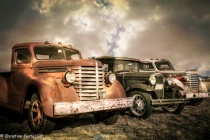 Old Vehicles in rural Montana