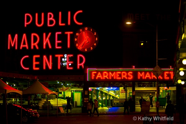 Pike Place Market Seattle - ID: 13364311 © Kathy K. Whitfield