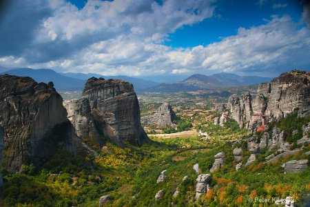 The Valley of Meteora