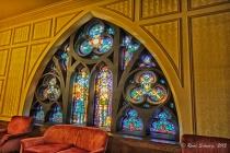 Art Glass Window: Scottish Rite Cathedral