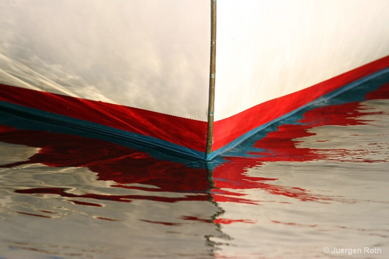 Abstract Sailboat Bow - ID: 13376049 © Juergen Roth