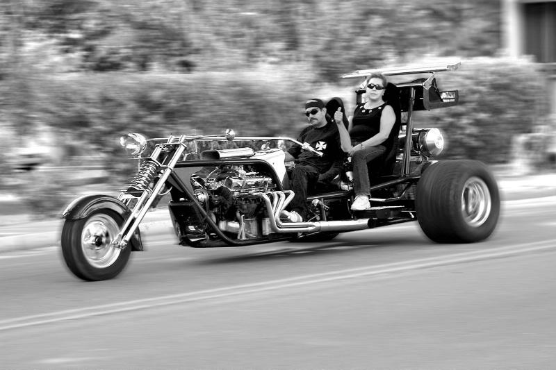 Taos Biker