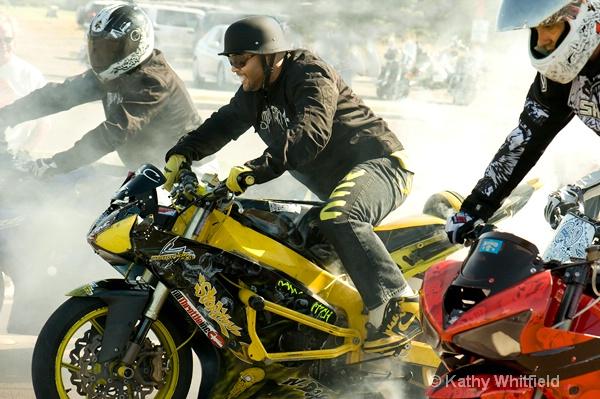 Hollywood B At Motorcycle Rally - ID: 13404275 © Kathy K. Whitfield