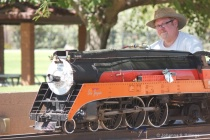 A Man and His Train