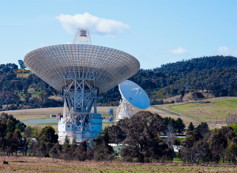 The Tidbinbilla Tracking Station.