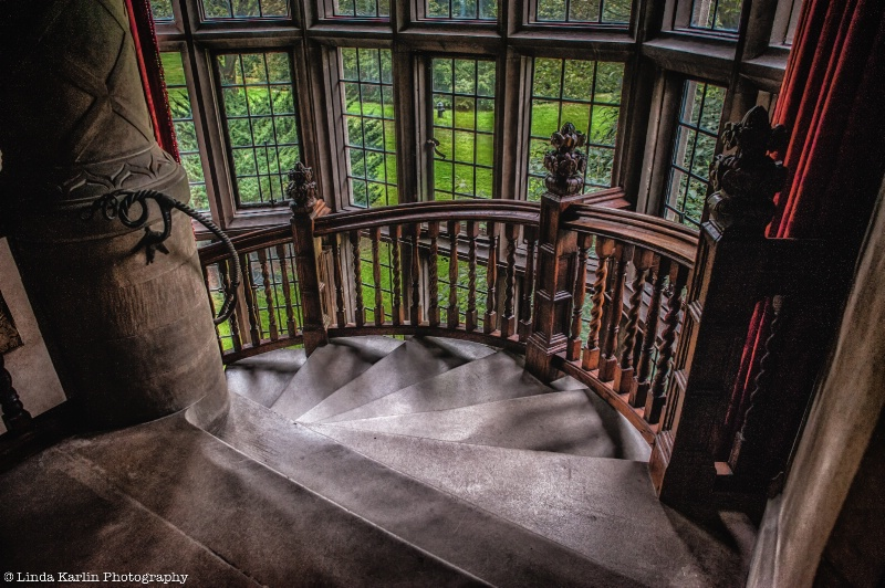 Staircase With A View