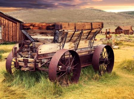Oak and Iron Wagon.