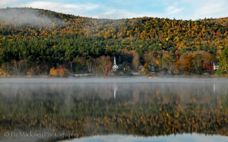 The Little White Church on Crystal Lake