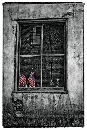 Patriotic Window
