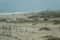 Foggy Morning on Carova Beach: OBX, NC