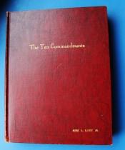 """""""The Ten Commandments"""" Orginal Script."""