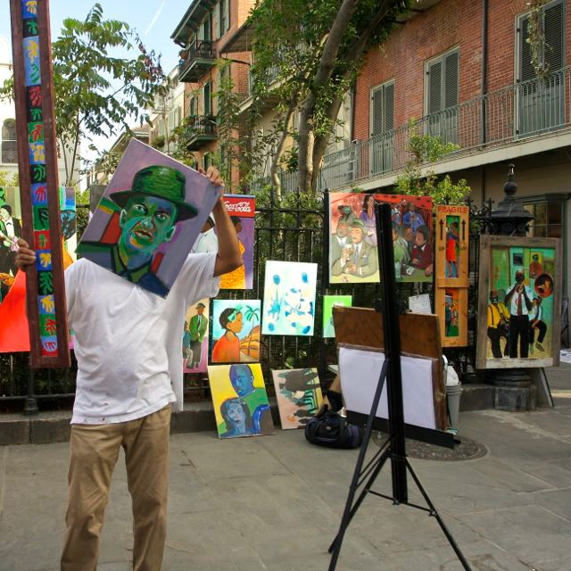 New Orleans Street Artist