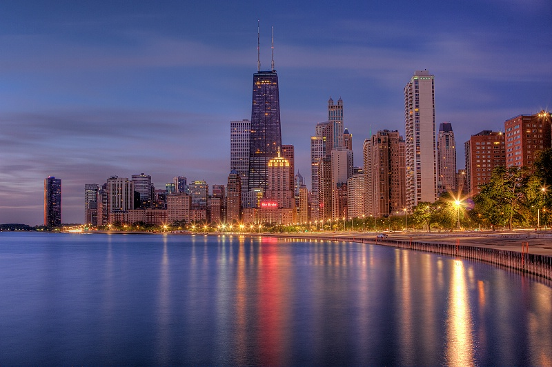 Chicago from North Ave. Beach