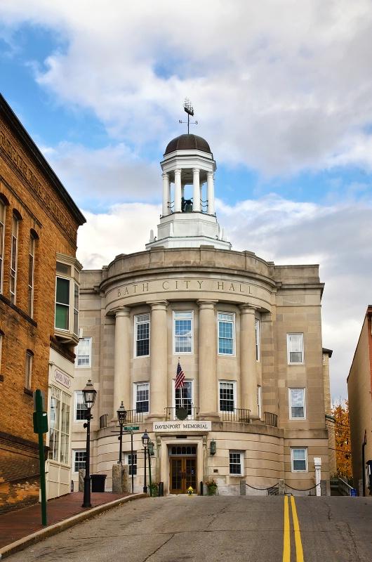 Bath City Hall - ID: 13495542 © Jeff Robinson