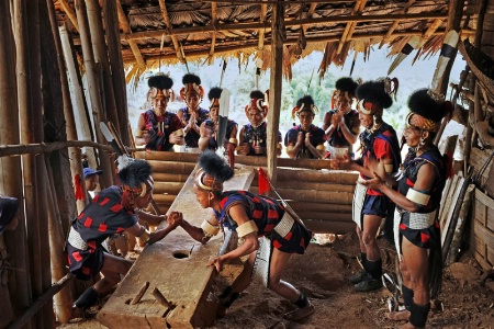 Narga nation in Myanmar