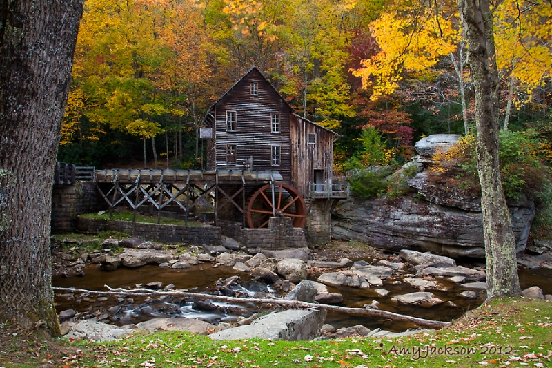 Glade Creek Grist Mill II