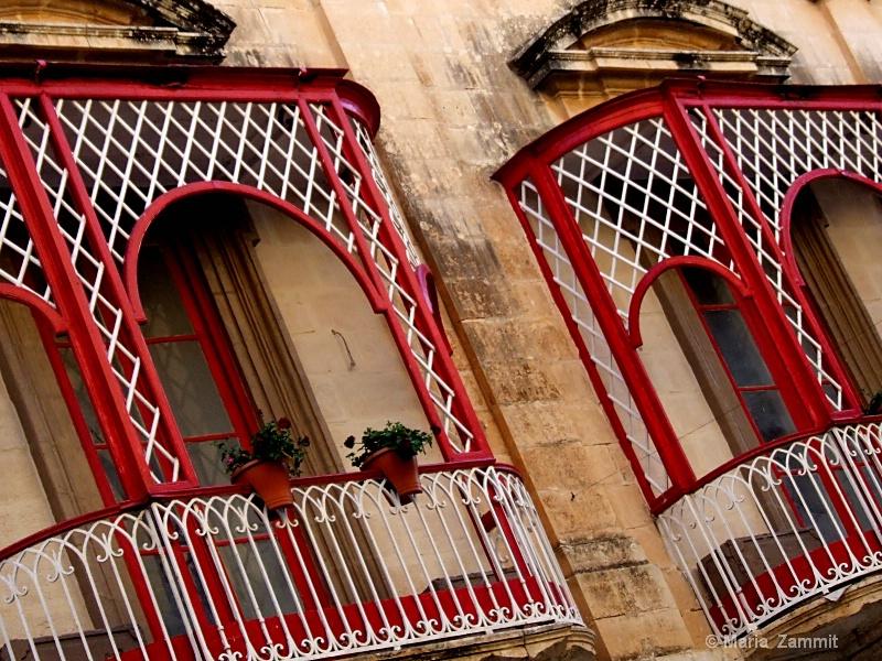 Red Balconies