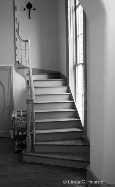 Window Light on Stairs